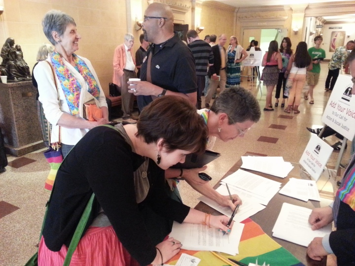 GLBT JUSTICE LETTER SIGNING CAMPAIGN 1