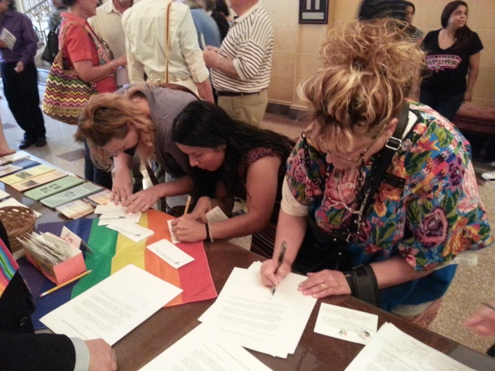 GLBT JUSTICE LETTER SIGNING CAMPAIGN 6